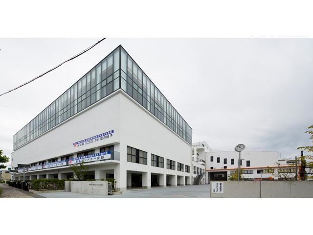 静岡市立清水桜が丘高等学校 体育館・岡生涯学習交流館